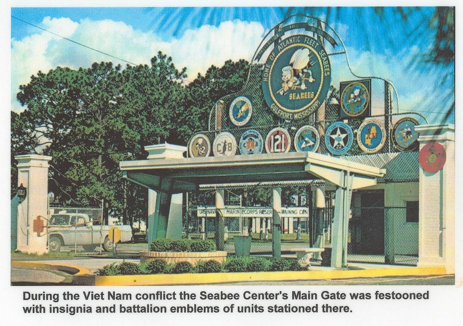 Seabee Front Gate in Vietnam